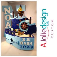 interest esty noah ark baby shower decor | Noahs Ark baby shower decoration