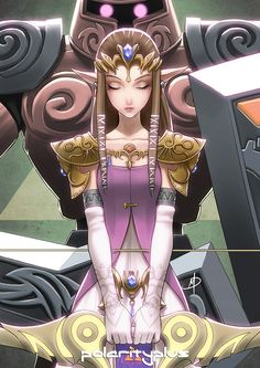 Zelda - Phantom Princess      Created by Daniel MacGregor (Polarityplus) - Society6