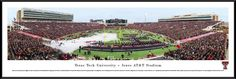 Texas Tech Red Raiders Panoramic Picture