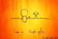 Love is: simple gifts (series) · discover this series on Google+ plus.scribblegraph.me