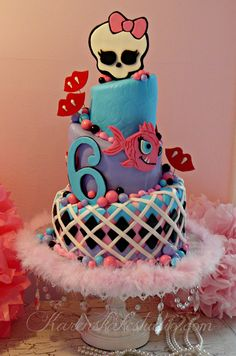 monster high by Karen's kakes, via Flickr