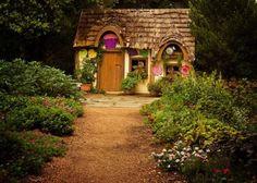 Casas como de cuentos fantasticos -