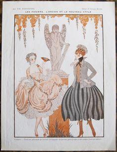 George Barbier (1882 – 1932). La Vie Parisienne, 1916. [Pinned 20-ix-2015]