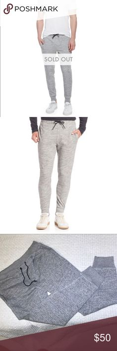 SALE ⚡️Theory Morris Drawstring Joggers Pants Awesome Men's joggers by Theory that are sold out at Neiman Marcus and Nordstrom. They are super soft, comfy terry fabric. They have two front pockets and one back zippered pocket. One of the metal drawstring cord ends has come off (see pics), but other than that they're in great, barely worn condition. You can live in these pants! Theory Pants Sweatpants & Joggers