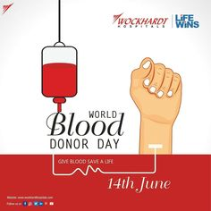 Blood donation is a gift of kindness. There are many patients who need blood as a source of treatment. This Blood Donor Day let's all do a noble service and donate blood to save a Life! Health Day, Blood Donation, Let It Be, Gift, Gifts, Presents
