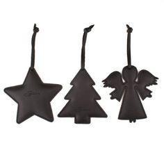Saddleback Leather Christmas Ornament Set (Black) Christmas Ornament Sets, Xmas Ornaments, Diy Christmas Gifts, Christmas Angels, Christmas Decorations, Leather Diy Crafts, Leather Craft, Diy Leather Card Holder, Saddleback Leather