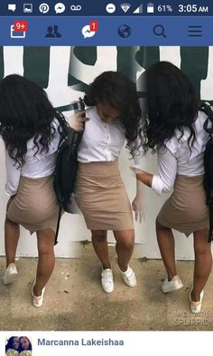 Discover recipes, home ideas, style inspiration and other ideas to try. Back To School Uniform, School Uniform Outfits, Cute School Uniforms, Kids Uniforms, School Girl Outfit, Cute Outfits For School, Dope Outfits, College Outfits, Kids Outfits