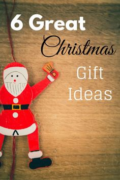 With Christmas around the corner here are 6 great gift ideas for family and friends!