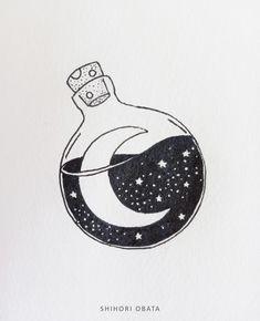 Easy Doodles Drawings, Space Drawings, Easy Doodle Art, Doodle Art Designs, Doodle Art Drawing, Cute Easy Drawings, Art Drawings Sketches Simple, Pencil Art Drawings, Drawing Ideas