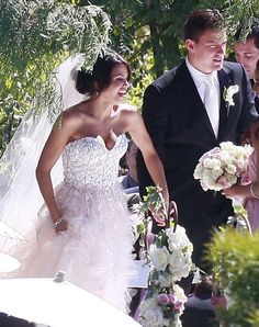 Pin for Later: You Won't Be Able to Stop Scrolling Through These Gorgeous Summer Weddings Channing Tatum and Jenna Dewan Channing and Jenna held their July 2009 Malibu, CA, wedding outdoors.