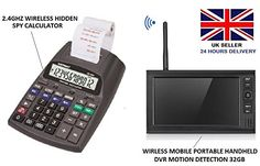 Shop Spywatch Wireless Spy Camera Hidden Printing Calculator Sony CDD Spy Camera LCD DVR Free delivery and returns on eligible orders. Wireless Spy Camera, Hidden Camera, Calculator, Sony, Printing, Amazon, Riding Habit, Amazon River, Stamping