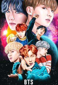 Animated gif about kpop in K-pop by GohstMoon Foto Bts, K Pop, Rap Monster, Bts Memes, Blackpink Memes, Bts Wallpapers, Bts Backgrounds, Art Et Design, Foto Portrait
