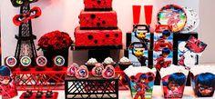 Resultado de imagem para decoração festa ladybug