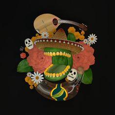 ¡hola maíz!🌽🌽🌽 #3dart #maxon #3ddesign #digitalart  #cinema4d #render #3d #art #graphics #graphicdesign #3dmodeling #corn