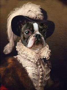 Custom renaissance canvas portraits from your photo. Royal People and Pet Portraits for canvas Print. Portraits From Photos, Dog Portraits, Portrait Images, Couple Portraits, Female Portrait, Portrait Art, Portrait Renaissance, Outdoor Art, Dog Art