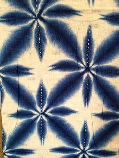 Image result for paper folding and and indigo dyeing