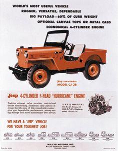 Jeep Ad (1959)