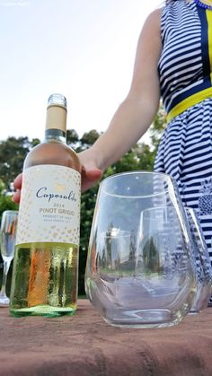 """Caposaldo Wine is the perfect party pleasing beverage, from a Sparkling Peach Moscato perfect for sipping on during girls night in to a deliciously sweet Pinot Grigio perfect by the glass with dinner; find out why you should try this wine and more about how you can host the most fantastic girls night in (or """"hurricane party"""")! by @sunkissed23 #CaposaldoWine"""