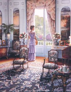 Victorian Lady by John O'Brien
