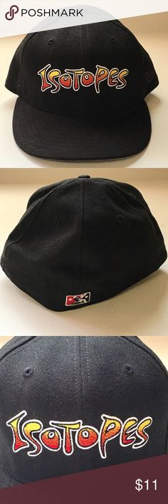 d58bb18a5a7 Albuquerque Isotopes NEW ERA 59FIFTY 7 5 8 Hat Cap Albuquerque Isotopes NEW  ERA 59FIFTY