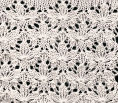 Fascinating tutorial on how to chart a lace stitch from a knitted fabric. Twosheep #knitting