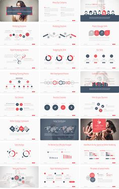 Buy Marketing Solutions Powerpoint Presentation by veshi on GraphicRiver. With its all 100 beautifully and functional designed slides you will be ab. Powerpoint Slide Designs, Powerpoint Design Templates, Presentation Design Template, Ppt Design, Presentation Layout, Chart Design, Brochure Design, Booklet Design, Design Layouts