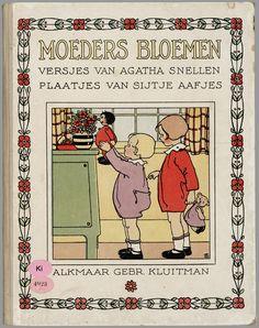 pictures of Sijtje Aafjes Vintage Children's Books, Vintage Postcards, Vintage Cards, Old Children's Books, Japanese Drawings, Children's Book Illustration, Book Illustrations, Little Doll, Texts