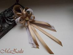 Craft Wedding, Wedding Day, Ribbons Galore, Diy Ribbon, Handmade Flowers, Wedding Accessories, Projects To Try, Bows, Bridal