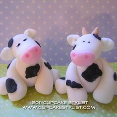 Cupcake Stylist: Fondant Noah's Ark Cake Toppers