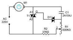 1000W AC Motor Speed Controller
