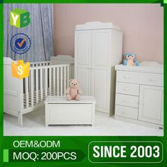 Look what I found Via http://Alibaba.com App: - Yibang Green Product Carb Certificate Mdf Sale Folding Detachable Baby Crib