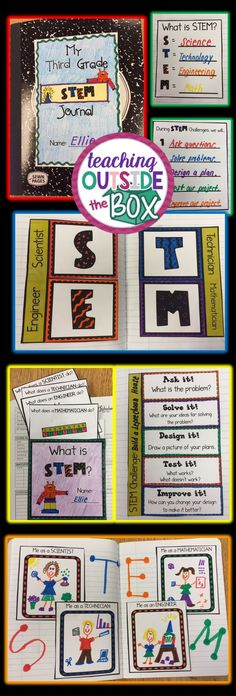 New science notebook elementary graphic organizers Ideas Stem Learning, Project Based Learning, Elementary Science, Teaching Science, Science Classroom, Science Education, Steam Education, Teaching Ideas, Glenn Doman