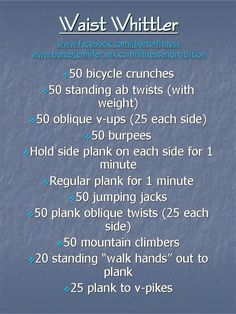 Jennifer Barter - Fitness and Nutrition: Get Rid of Those Love Handles! Here is an at home workout you can squeeze in that targets core, abs, obliques, and a little back!