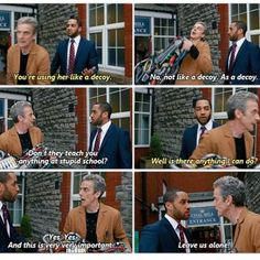Doctor Who - Danny Pink and Doctor #8.6 #TheCaretaker