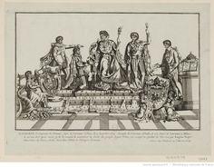 Napoléon I.er empereur des Français, sacré et couronné à Paris le 2 décembre 1804 : [estampe]
