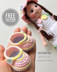 Crochet Amigurumi Doll (Part How to Join Crochet Doll L Crochet Dolls Free Patterns, Crochet Doll Pattern, Amigurumi Patterns, Amigurumi Doll, Doll Patterns, Diy Crafts Crochet, Crochet Projects, Crochet Elephant, Crochet Doll Clothes