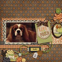 my page using Shabby Miss Jenn Designs Man's Best Friend Bundle @juliemedia