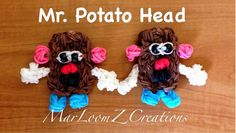 Rainbow Loom Mr. Potato Head by Marloomz Creations So cute!