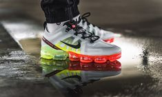 "Nike Air Vapormax 2019 ""Pure Platinum/Volt"" only $89.99 (Retail $190) here!  #KicksLinks #Sneakers #Nike #Deal"