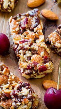 Homemade grain-free healthy goodness! Recipe on http://sallysbakingaddiction.com