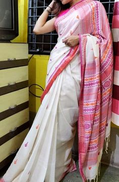 Price-Rs 2030 + Shipping extra Mercerise cotton saree with blouse piece Best Quality assure 100 count cotton Cotton Saree Blouse, Bridal Sarees, Designer Sarees, Party Wear, Sari, Casual, Fashion, Saree, Moda