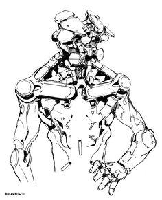 sketches 6-9, Brian Sum on ArtStation at https://www.artstation.com/artwork/OOJzK