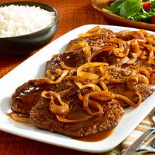 Bistec Encebollado, or steak and onions, is a spiced, flavorful skillet steak prepared with a classic Adobo-garlic rub. Bistec Encebollado takes its delicious flavor from our homemade marinade, made quickly and easily using GOYA® condiments like Adobo with Pepper.
