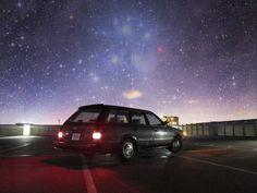 Subaru: car and constellation