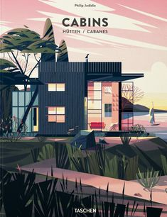 Cruschiform's idyllic illustrated cabins