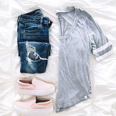 @sunsetsandstilettos- casual outfit inspiration