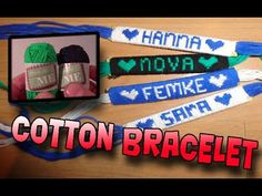 How to Make an Alpha Friendship Bracelet (Name Bracelet)! Clear Instructions Start to End! - YouTube