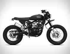 Born is a independent motorcycle company based in Barcelona, they design original, limited edition motorcycles for everyday rides. Their new Born Tracker is a lightweight scrambler motorcycle with a vintage look perfectly matched with modern features