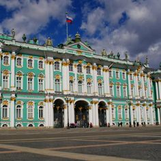 6. The Winter Palace (State Hermitage Museum), St. Petersburg, Russia | Food & Wine