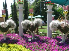 2010 Epcot Flower & Garden Festival: Topiary Pictures | Disney World Blog Discussing Parks, Resorts, Discounts and Dining | Only WDWorld